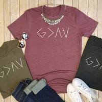God is Greater than the Highs and Lows Graphic Tee