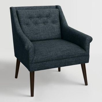Linen Blend Naveen Upholstered Chair