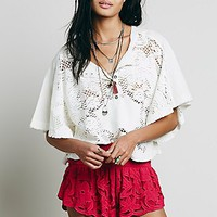 Free People Womens Kadek Textured Short