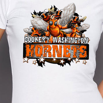 Booker T. Washington Hornet Stars T-Shirt