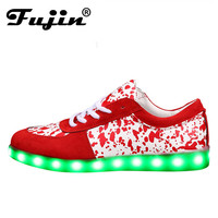 Led shoes for adults casual women casual shoes led luminous shoes men plus size light up women shoes zapatos mujer vulcanize