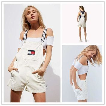 Tommy Jeans '90s Shortall Overall | Urban Outfitters H-YF-MLBKS One-nice™