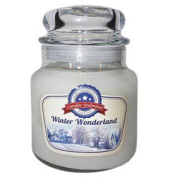 Winter Wonderland - Soy Blend Container Scented Candles
