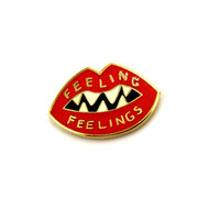 FEELING FEELINGS Enamel Pin