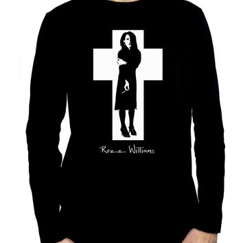 Rozz Williams Men's Long Sleeve T-Shirt Christian Death Gothic Clothing