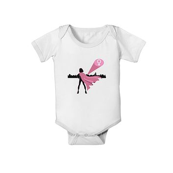 Girl Power Women's Empowerment Baby Romper Bodysuit by TooLoud