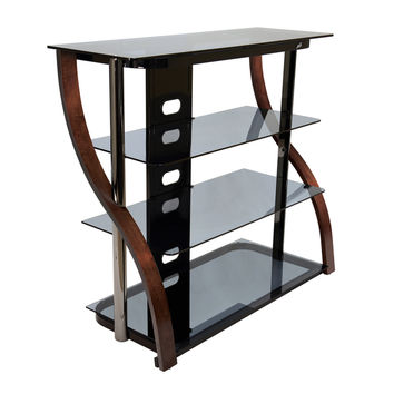 Bell'O CW340 40-inch Espresso Tall TV Stand for TVs up to 42 inches | Overstock.com Shopping - The Best Deals on Entertainment Centers