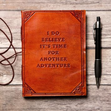 PER ORDER - Another Adventure Handmade Leather Journal