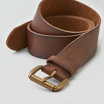 AEO Leather Belt, Chestnut