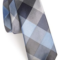 Men's Calibrate Woven Silk Tie, Size Regular