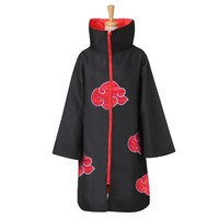 Naruto Cloak Robe Cape Akatsuki Cosplay Costumes Orochimaru uchiha madara Sasuke itachi cloak clothes