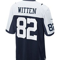 Nike Men's Jason Witten #82 Dallas Cowboys NFL Game Replica Throwback Jersey (X-Large)