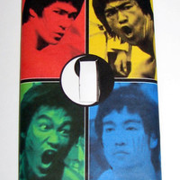 Light Switch Cover - Light Switch Plate Bruce Lee Yin Yang