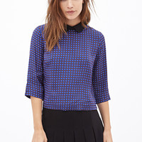 FOREVER 21 Peter Pan Collar Top