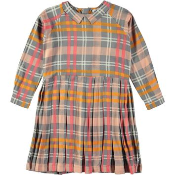 Molo Girls' Printed Check CHRISSY Dress