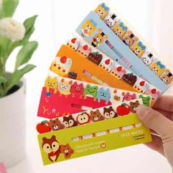 Sticky Notes Cute Funny 120 Pages Sticker Post It Bookmark Marker Memo Flags Tab