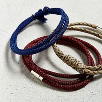 UO Paracord Bracelet 3-Pack | Urban Outfitters