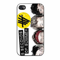 5 Seconds Of Summer Funny Eyes iPhone 4s Case