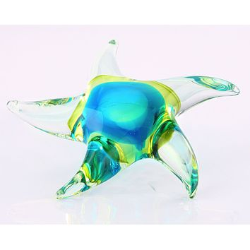 Glass Starfish Home Decor