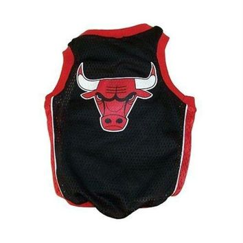 Chenier Chicago Bulls Alternate Style Dog Jersey