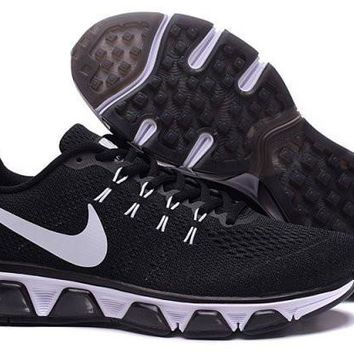 Unisex Nike Air Max Tailwind 8 Black & White Anthracite Athletic Sneakers Running Shoe