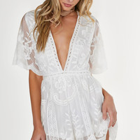 Antique Crochet Romper