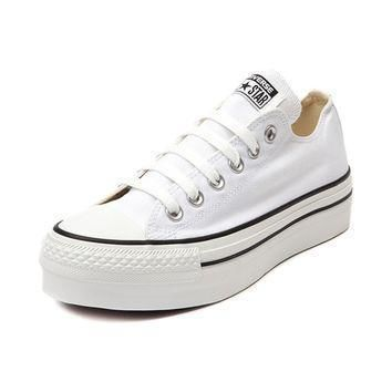 womens converse all star lo platform sneaker