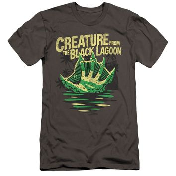Creature from the Black Lagoon Canvas T-Shirt Hand Charcoal