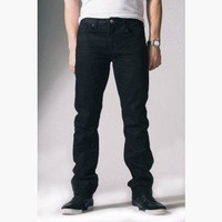 {True Grit} Relaxed Slim Jeans in Infamous Black