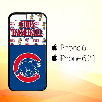cubs baseball W3315 iPhone 6|6S Case