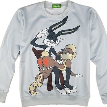 Lola and Bugs Bunny Sweater