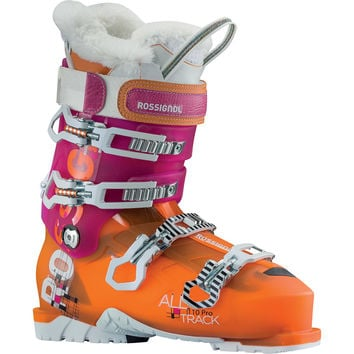 Rossignol AllTrack Pro 110 Ski Boot - Women's Pink/Orange,