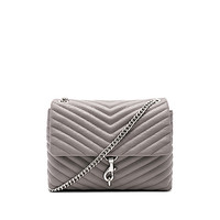 Rebecca Minkoff Edie Flap Shoulder Bag in Grey