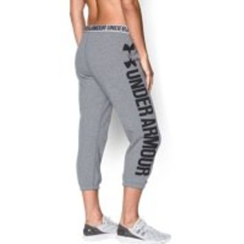 Under Armour Women's UA Favorite Fleece Capri