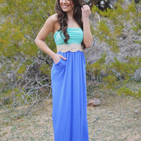 Closet Candy Boutique · CCB Pocket Maxi - Mint and Lavender
