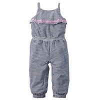 Baby Girl Carter's Striped Jumpsuit