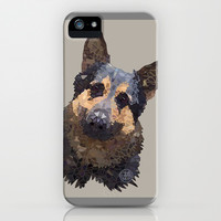 German Shepherd iPhone & iPod Case by ArtLovePassion