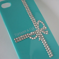 SALE TODAY Tiffany iPhone case   Center Ribbon Wrap by bitsbybets