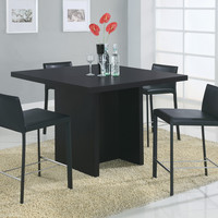 "Dining Table - 48""X 48"" - Black Counter Height"