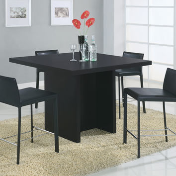 "Dining Table - 48""X 48"" / Black Counter Height"