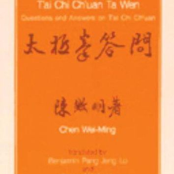 T'Ai Chi Ch'Uan Ta Wen, Questions and Answers on T'Ai Chi Boxing