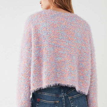 UO Funky Fuzzy Pullover Sweater | Urban Outfitters