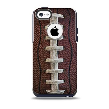 The Football Laced Skin for the iPhone 5c OtterBox Commuter Case