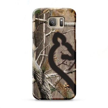 Love Browning Deer Camo Real Tree Couple 2 Samsung Galaxy J7 2015 | J7 2016 | J7 2017 case