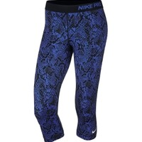 Nike Women's Pro Heights Vixen Printed Capris