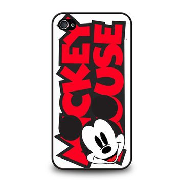 MICKEY MOUSE LOGO iPhone 4 / 4S Case