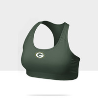 Check it out. I found this Nike Pro Victory Compression (NFL Packers) Women's Sports Bra at Nike online.