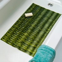 Bamboo Bath Mat - Green