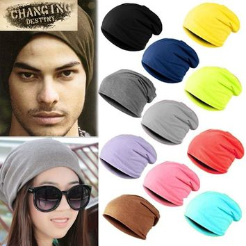 Spring Fashion Men Knitted Winter Cap Casual Beanies Men Women Solid Color Hip-hop Beanie Slouch Skullies Bonnet Unisex Cap Hats