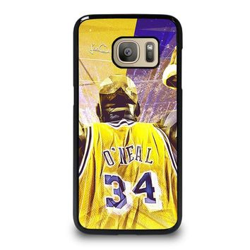 SHAQUILLE O'NEAL LA LAKERS Samsung Galaxy S7 Case Cover